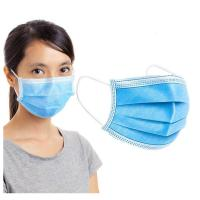 Buy cheap 3 Ply Disposable Earloop Mask Disposable Nose Mask Non Woven Material from wholesalers