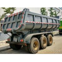 Buy cheap Multi Sized Load Trail Dump Utility Trailer For Base Rock Topsoil Asphalt , Truck Dump Trailers from wholesalers