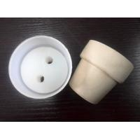 Buy cheap Oil resistant, water resistant and chemical resistant white natural rubber rubber stoppers from wholesalers