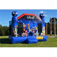 Buy cheap Durable Toddler Inflatable Bouncer , Outdoor Commercial World Disney Jumping Castle from wholesalers