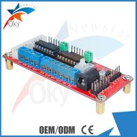 Buy cheap Four DC Motor Driver Module for Arduino , SMT L293D Chip 4WD car L293D modules from wholesalers