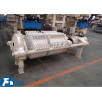 Buy cheap 800*800mm Round Plate Filter Press Equipment For Clay / Kaolin Industry from wholesalers