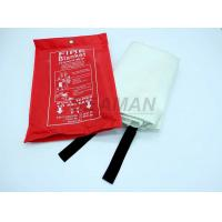 Buy cheap EN1869 PVC Red Bag Marine Fire Fighting Equipment Fiber Glass Fire Blanket from wholesalers