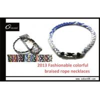 Buy cheap Health Sports Balance Magnetic Tornado Titanium Necklace from wholesalers