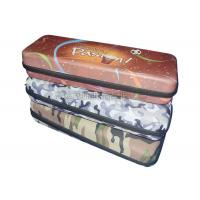 Buy cheap Brown Pattern EVA Dinnerware Storage Boxes / Lunch Tote Bag Polyester Materials from wholesalers