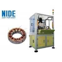 Buy cheap BLDC Motor Coil Winding Machine / Fan Stator Winding Machine Servo System from wholesalers