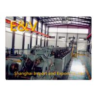 Buy cheap 650kW Green 8mm Low - Oxygen Copper Continuous Casting Machine 15 tons/hr from wholesalers
