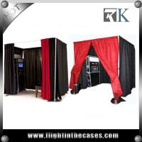 Buy cheap pipe and drape round photo booth equipment custom made photo booth from wholesalers