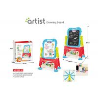 Wholesale 67 CM Height Unisex Kids Magnetic Drawing Board 12 Chalks Painting Blue from china suppliers