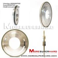 Buy cheap resin bond diamond grinding wheel Alisa@moresuperhard.com from wholesalers