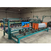 Buy cheap Galvanized Iron Wire 1.5-4.8mm Chain Link Fence Machine from wholesalers