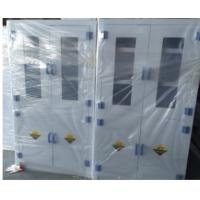 Buy cheap Two Sections Chemical Storage Cabinet Double Door 40kg Capacity Corrosion Resistance from wholesalers