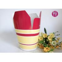 Buy cheap Double PE Coated Restaurant Take Away Paper Box / Custom Printed from wholesalers