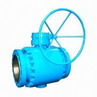 Buy cheap Trunnion ball valve, three piece forged ball valve from wholesalers