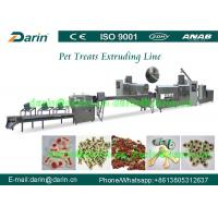 Buy cheap Pet Chewing Snack Processing Machine / feed extruder machine from wholesalers