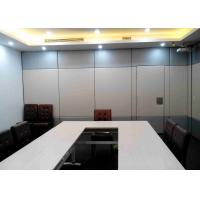 Buy cheap Mordern Office Sliding Partition Wall , Sliding Wall Dividers Robust Aluminium Frame from wholesalers