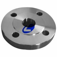 Buy cheap ANSI B 16.5 titanium Gr2 welding neck flange for DN 10-600 from wholesalers