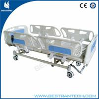 Buy cheap Adjustment 750mm ICU Electric Hospital Beds With 3 - Functions Home Care Use from wholesalers