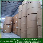 Buy cheap 230 250g 300 350gram one side paper cardboard file folder for medecine box making from wholesalers