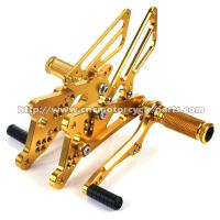 Buy cheap High Strength Yamaha R6 Adjustable Rearsets , Light Weight Sportbike Rear Sets from wholesalers