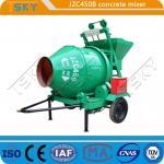 Buy cheap Low Energy Consumption JZC450B Industrial Concrete Mixer from wholesalers