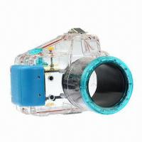 Wholesale 40m/130ft Waterproof Underwater Case Camera Housing for Diving, Sony NEX-5, 18 to 55mm from china suppliers