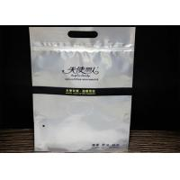 Buy cheap Underwear Plastic Aluminium Foil Packaging Bags Transparent Zipper With Hole from wholesalers
