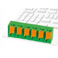 Buy cheap Shakeproof Spring Connector PCB Terminal Block 450V 15A with Electrical Conductivity from wholesalers