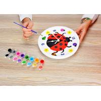 Buy cheap Children's Arts And Crafts Toys DIY Assemble Plaster Clock Lovely Ladybug Design from wholesalers