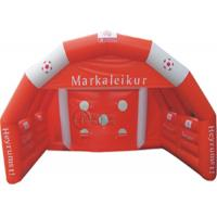 Buy cheap Goal Inflatable Sports Games Inflatable Football Game For Amusement Equipment from wholesalers