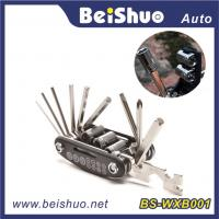 Buy cheap 16 in 1 Hot Selling Bicycle Repair Tool Set with Multifunction muti-tool from wholesalers