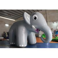 Wholesale Customized Airtight Standing Inflatable Elephant Cartoon For Commercial Activity from china suppliers