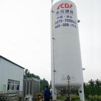 Buy cheap 10m3 cryogenic Liquid Oxygen Tank from wholesalers