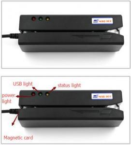 China HiCo 3-track Magnetic Card/swipe  card Reader/125K reader on sale