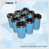 Bomco F1300 Triplex Mud Pump Liner, API-7K Certified Factory, Chromium content 26-28%, HRC hardness greater than 60
