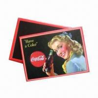 Buy cheap Fridge Magnets, Made of Tinplate, Environment-friendly, Suitable for Promotional and Gift Purposes from wholesalers