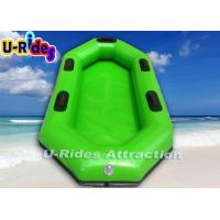 Buy cheap Green Inflatable Lake Toys adult Boats With Blower , Repairkit from wholesalers
