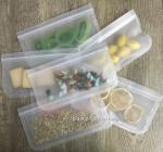 Buy cheap FDA PEVA Reusable Snack Storage Bag Airtight Seal Fresh-keeping Sandwich Food Bag from wholesalers