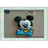 Buy cheap Baby micky pattern soft PVC keychain/rubber keychain as personalized gift from wholesalers
