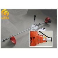 Straight Shaft Gasoline Grass Trimmer , Petrol Shoulder Brush Cutter Single Cylinder