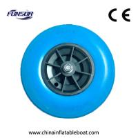Buy cheap 380 Reinforced Boat Launching Wheels To Carry Boat , Inflatable Boat Wheels from wholesalers