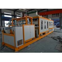 Buy cheap Foam Clamshell Plastic Container Production Line , Automatic PS Fast Food Container Machinery from wholesalers