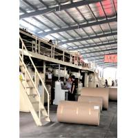 Buy cheap Automatic Carton Production Line , 1800mm Corrugated Box Production Line from wholesalers