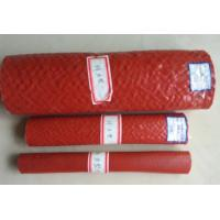 Wholesale Heat Resistant Silicone Rubber Fiberglass Sleeving , High Temperature Fire Sleeves from china suppliers
