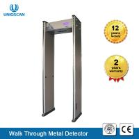 Buy cheap New Type 6 zones Walk-Through Metal Detector Gate With Full Body scanner  6/12/18 Zones Easy Assembly With LCD Screen from wholesalers
