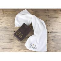 China 5 Star Colorful Luxury Hotel And Spa Bath Towels Jacquard Quick Dry Soft on sale