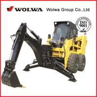 Buy cheap 0.95TON WOLWA new mini steer skid  loader for sale GNHC65 from wholesalers