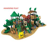 Buy cheap Woods Series Outdoor Playground Slides , Customize Child Play Slide For Kids product
