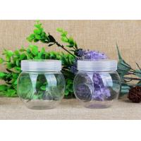 225 ML Thick Clear PET Plastic Jars Transparent Plastic Can For Dry Fruits Manufactures