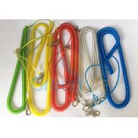 Buy cheap Steel Wire Core Spiral Fishing Pole Leash , Strong Spiral Spring Coil Lanyard product